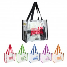 Clear Vinly NFL Stadium Compliant Tote